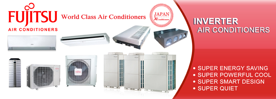 Partnership Fujitsu Air Conditioners