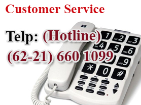 Customer Care Contact - SMS:085691836363 Ph:021-4610001